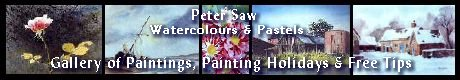 Gallery of Watercolours and Pastels by Peter Saw of Leicestershire, UK.