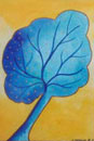 Watercolour of Blue Tree
