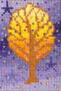 Needlepoint of Lilac Tree
